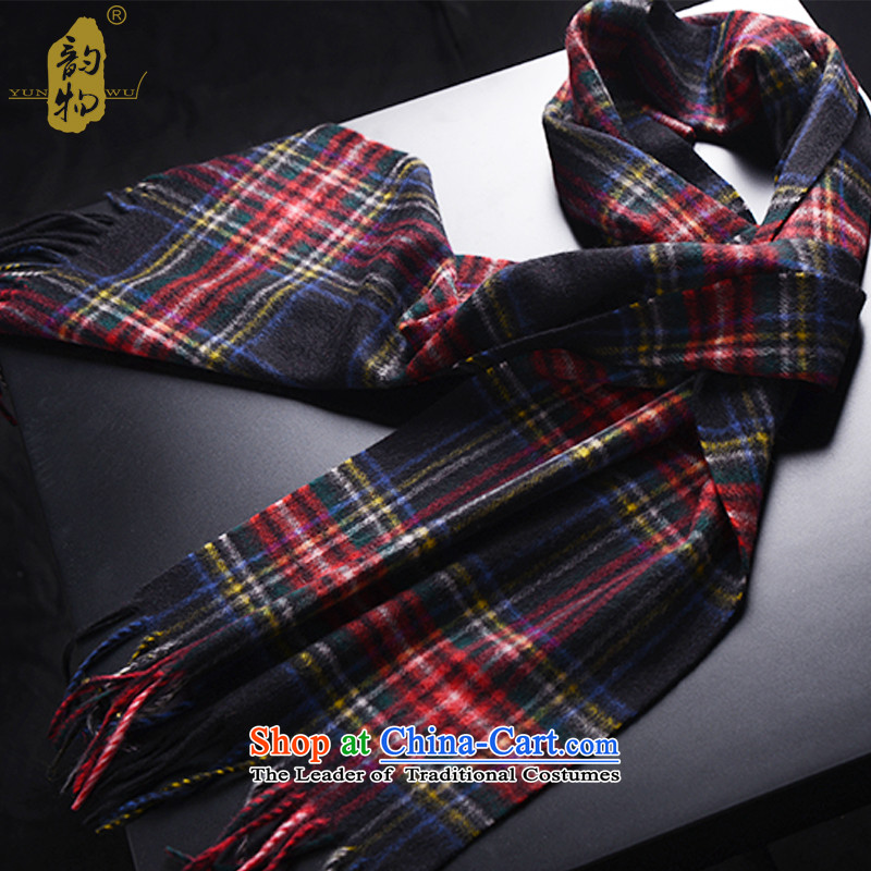 Autumn and winter following the end of the scarf of men's silk scarfs a Cashmere scarf Y799 Grid