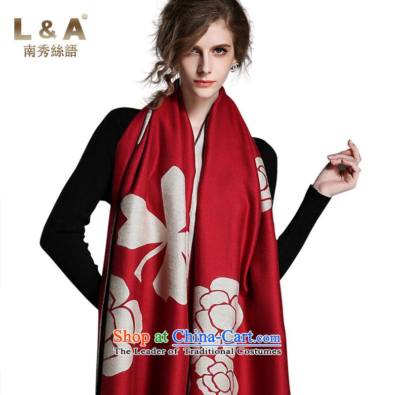 Nam-soo population in Arabic L_a2015 autumn and winter new emulation pashmina shawlRP115AL duplex brushed