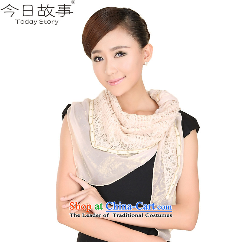 Today women cape autumn and winter story triangular handkerchiefJ3149 alsoyour smile stylish - Beige