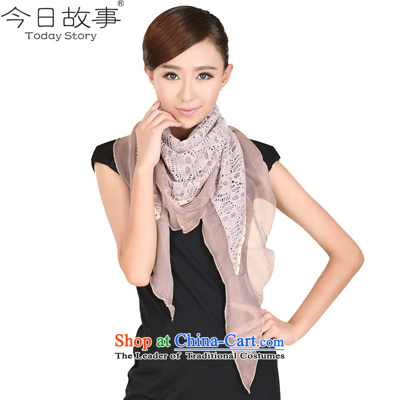 Today women cape autumn and winter story triangular handkerchiefJ3149 alsoyour smile usual zongzi stylish - Color