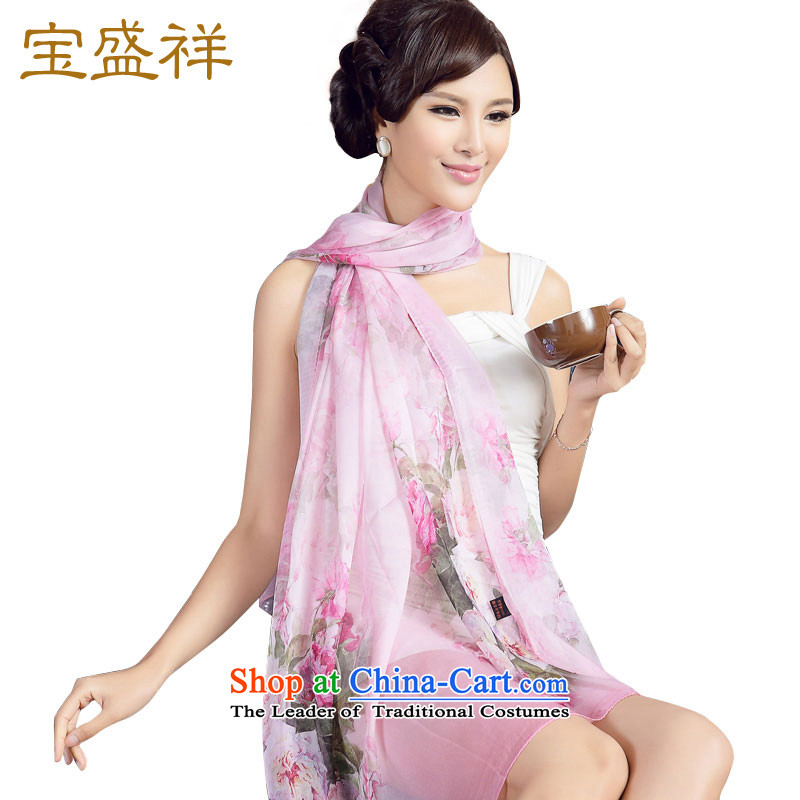 Ms. Cheung Blossom Spring and Autumn New Silk Scarf scarves spinning snow sauna silk scarf sunscreen womens air-conditioning shawl flowers s9118 scarf