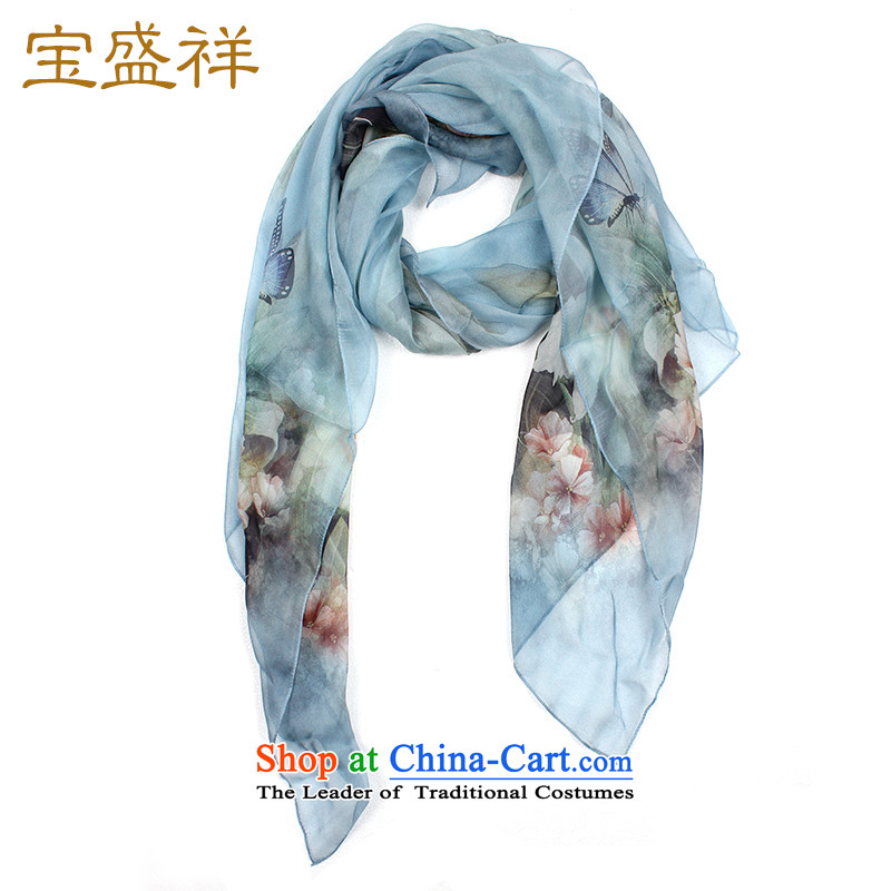 Ms. Cheung blossom silk scarf scarves spinning snow sauna silk scarf sunscreen womens air-conditioning shawls9110 scarf