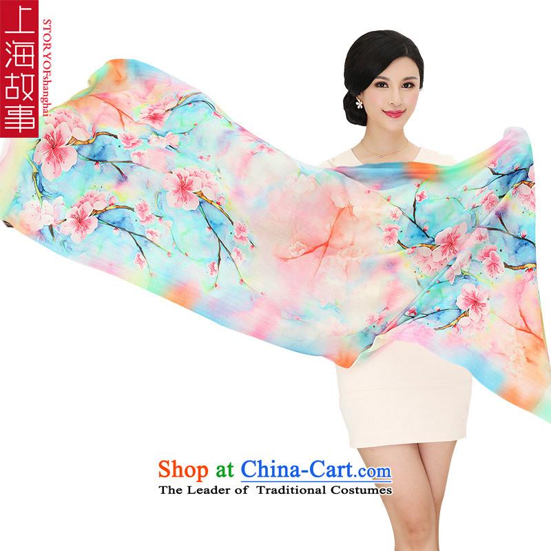 Shanghai Story new products wooler scarf Australian Wool 80 shawl warm聽RX11