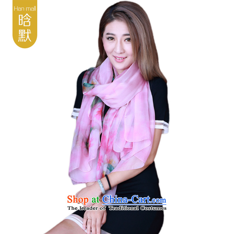 By default, detail upscale silk scarves wild herbs extract spring and autumn, silk scarves long shawl100 herbs extract sunscreen masks in light purple