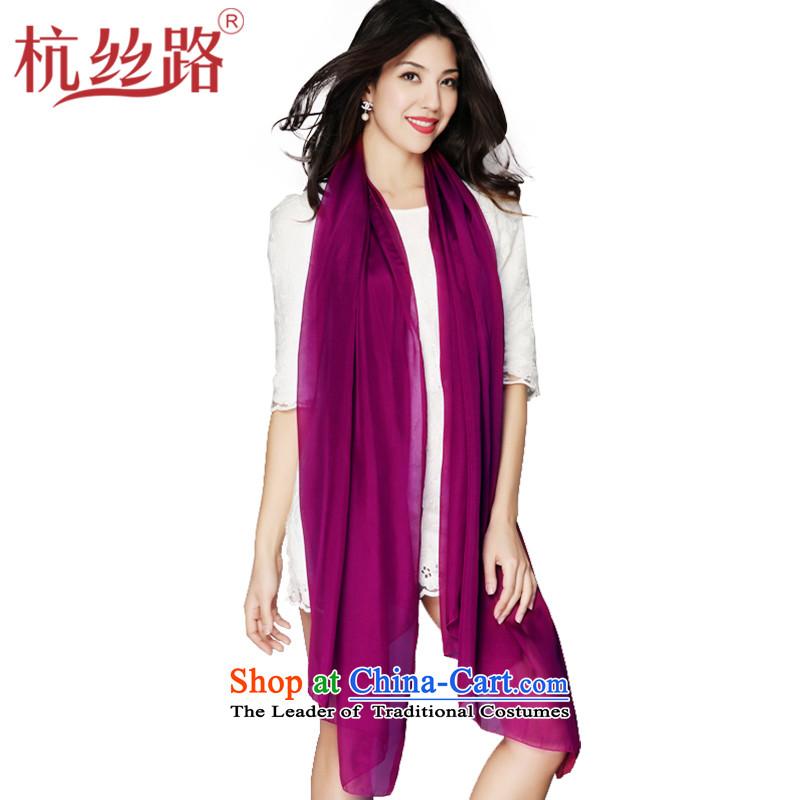 alejandro toledo silk road silk solid color silk scarf