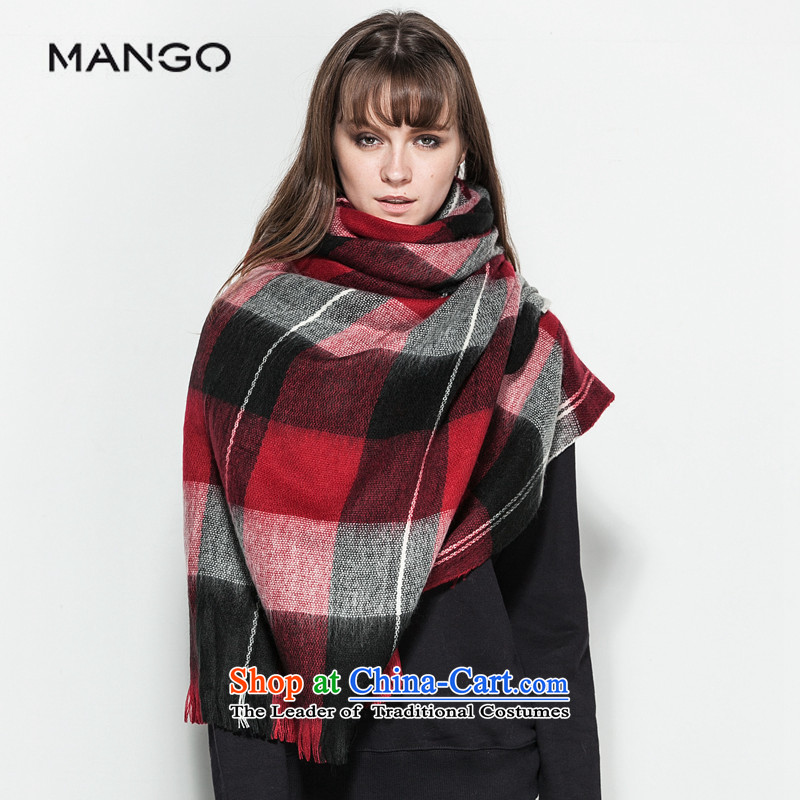 The MANGO accessories series red-haired scarf of stamp 5408362470