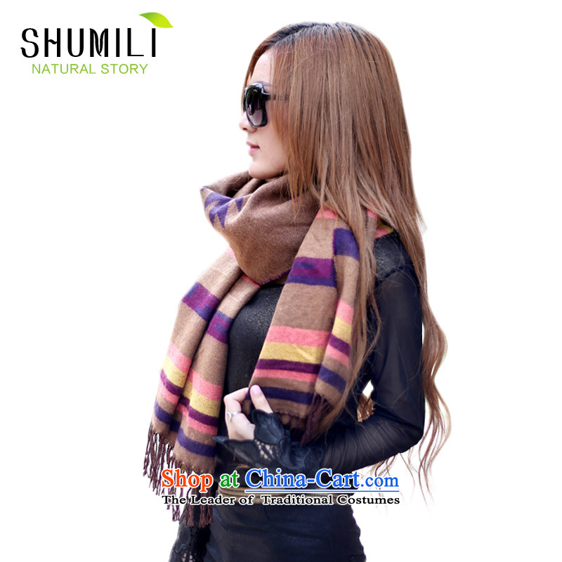 Mrs Carrie Yau, Ms. Mimi scarves knitted woolen scarves winter twist knitted cardigans plaid