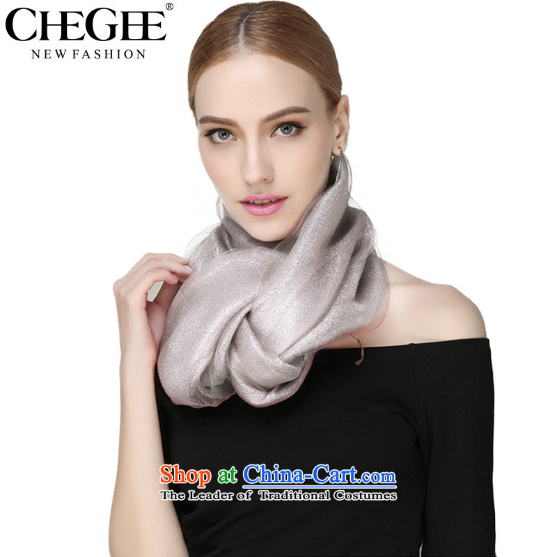 The autumn and winter, Ms. CHEGEE scarf Korean Double silk scarves large shawl aristocratic of gray