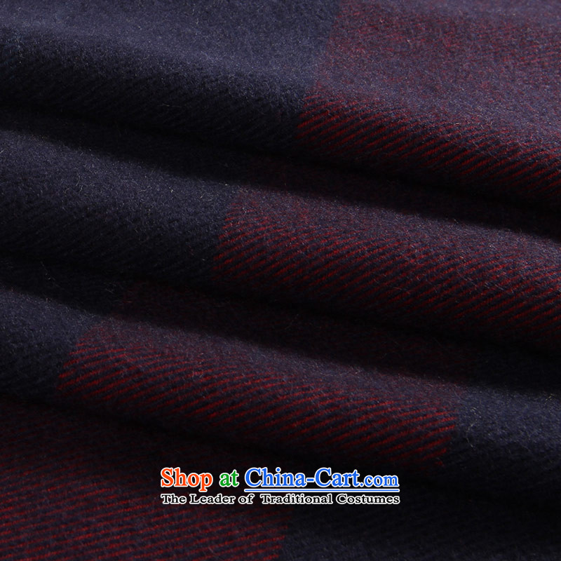 The Hsihu snow pashmina autumn and winter warm new grid Extralong and a Korean version of the cape Diamond red blue, Xihu Suet , , , shopping on the Internet