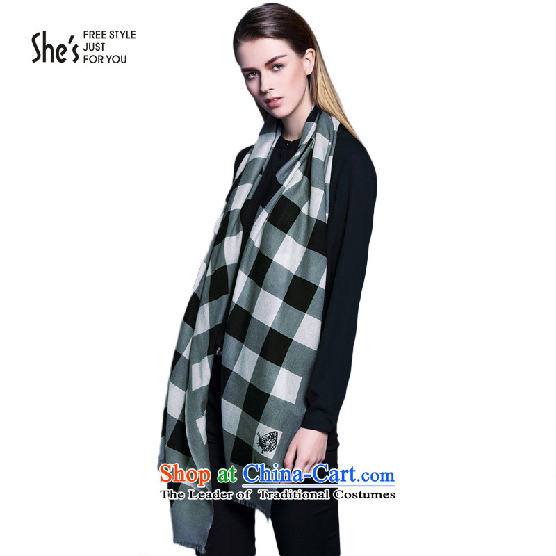 The end of the scarf accessories box she's stamp wool long scarf warm shawl femaleSSP9519339 G0