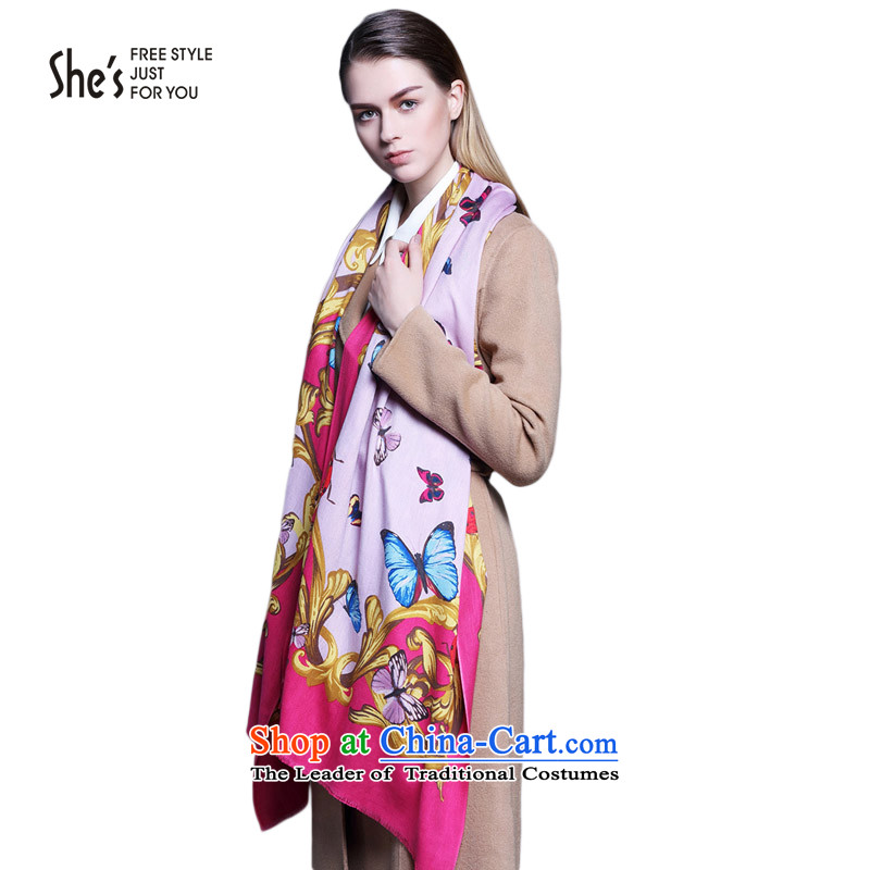 She's scarf accessories ethnic wooler scarf long herbs extract SSP96190974313A0 shawl