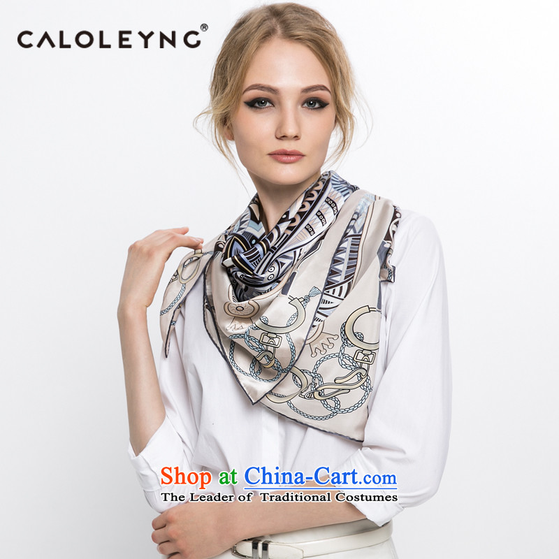 Charlotte, air-conditioning and classy towel to sheep herbs extract silk scarves female autumn and winter maxi shawl scarf blue shawl Light Gray
