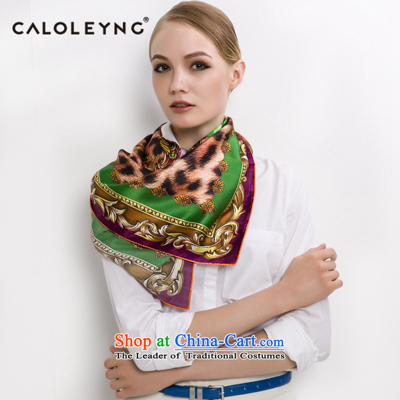 Charlotte to sheep silk scarves silk scarf and classy female autumn and winter new shawl scarf maxi shawl luxury Jungle