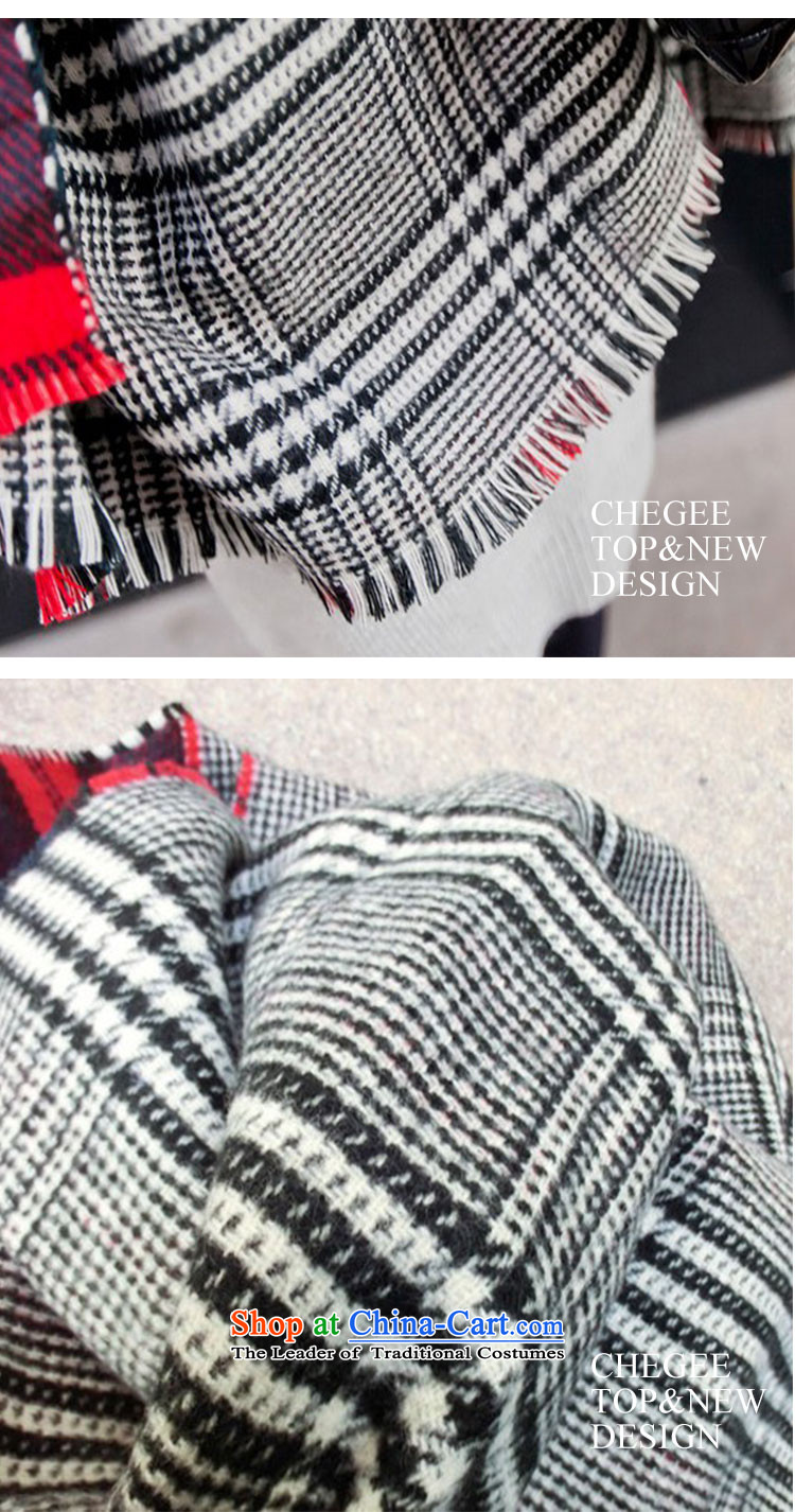 Anthology of autumn and winter chegee new two-sided latticed scarf of England Preppy chidori grid cell shawl unisex couples, Red Grid Image, prices, brand platters! The elections are supplied in the national character of distribution, so action, buy now enjoy more preferential! As soon as possible.