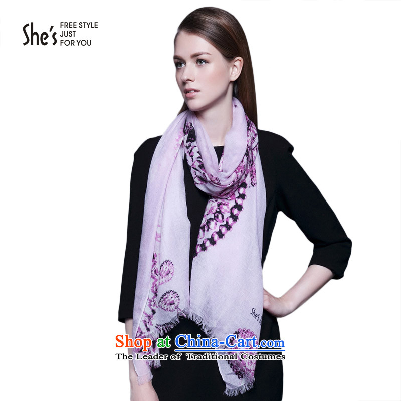 She's scarf accessories kiyomasa stamp soft credit Cashmere scarf rings lint-free warm shawl聽SSP9619074 E0