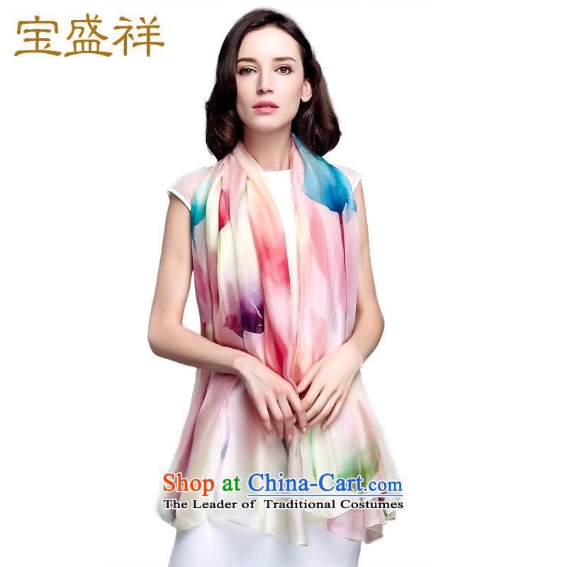 Eric blossom 2015 new silk scarfs President Dos Santos silk chiffon long silk scarf fireworks