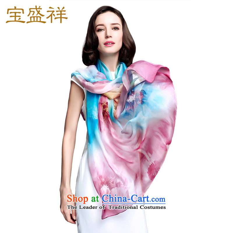 Ms. Cheung blossom sauna silk scarves spring and fall of snow spinning towel herbs extract scarf sunscreen large shawl autumn to dim