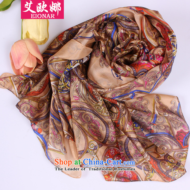 The fall of the OSCE (EIONAR)2015 HIV load new silk scarves female stamp satin high-end JDSJ006 herbs extract gold