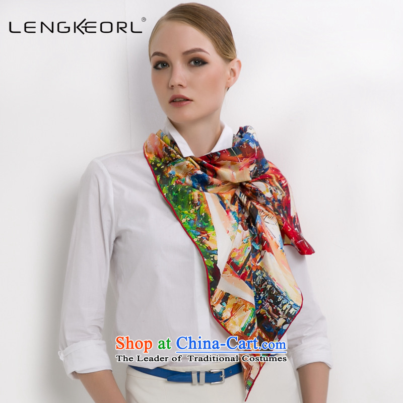 Ling Ke herbs extract and classy towel silk scarves scarves women cape new products thin silk scarf female busy autumn and winter time