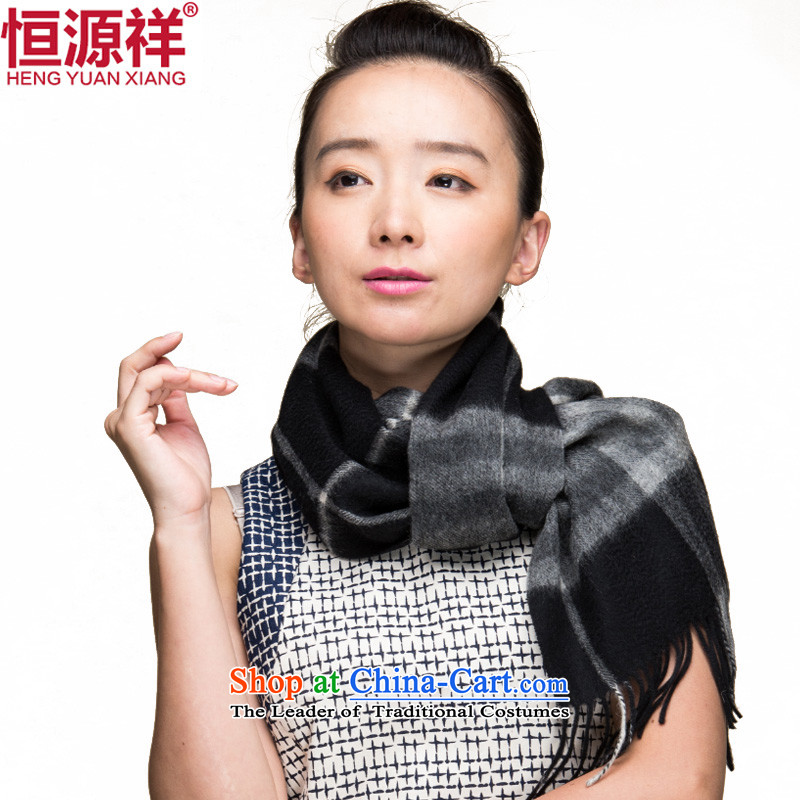Hengyuan Cheung of autumn and winter thick pashmina Korean long couples grid a scarf, pashmina shawl scarves with two6#