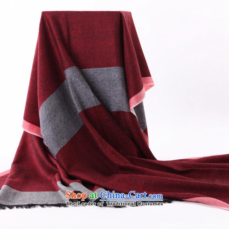 Rui,2015 Ultra Long Korean Dyed Wool Ms. Pamela thermal plain thick warm Fancy Scarf wind - English thoroughbred