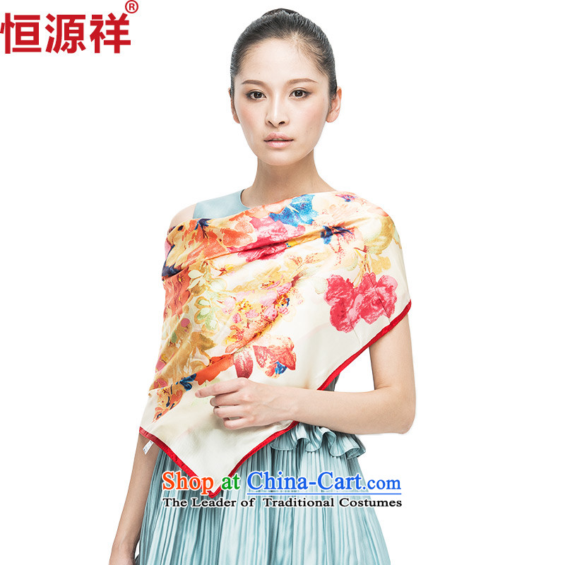 Hang Cheung new source of silk scarves Korean chiffon ultra-classy and towel autumn and winter, sauna silk scarf shawl28#-01