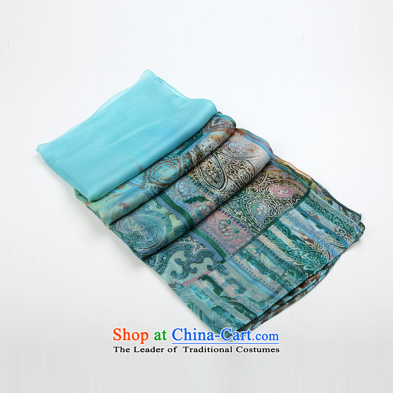 Hengyuan Cheung upscale stamp silk scarves Ms. long scarf snow spinning towel spring and autumn sun herbs extract shawl 2_. Suit