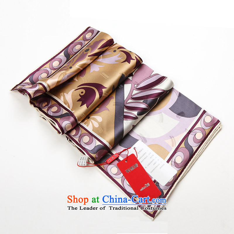 Hengyuan Cheung Chun-wave point women 2015 shawl silk scarf Ms. herbs extract silk scarf retro scarves, classy and dual-use fancy 46#.