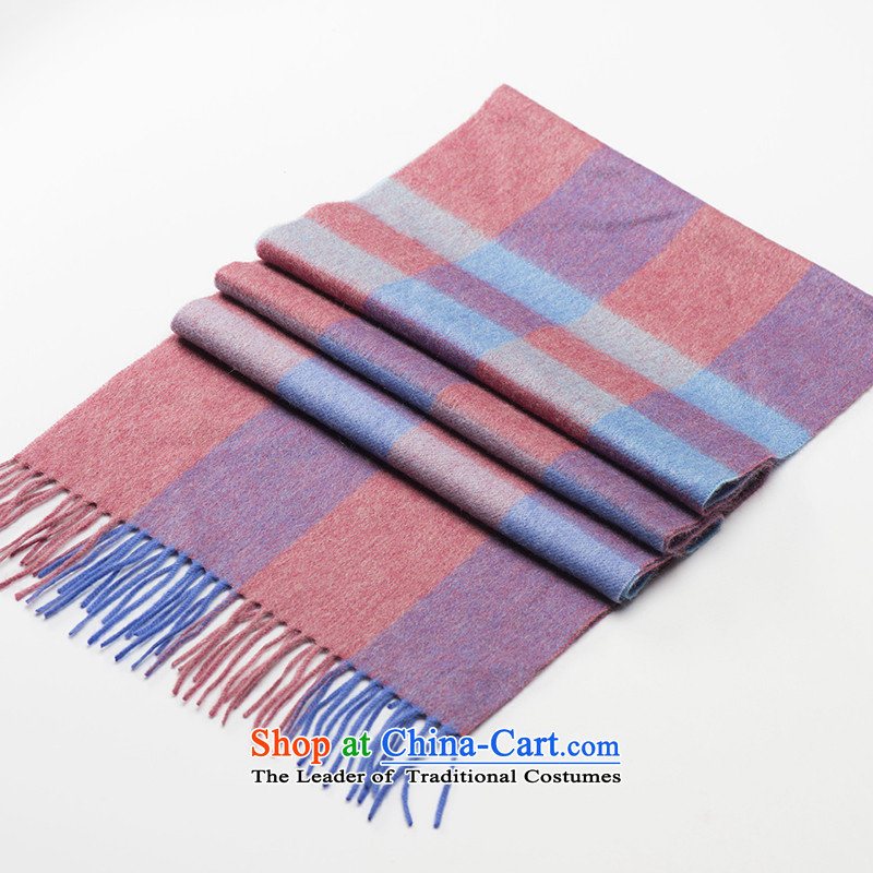 Ms. Cheung Hengyuan cashmere shawls England latticed couples wooler scarf long thick autumn warm winter ared s estimated 3_