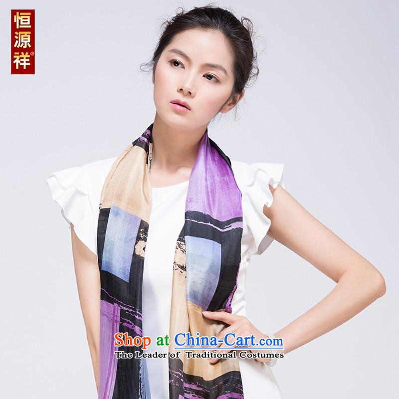 Hengyuan Cheung silk scarf silk spinning towel Yang stamp44#.