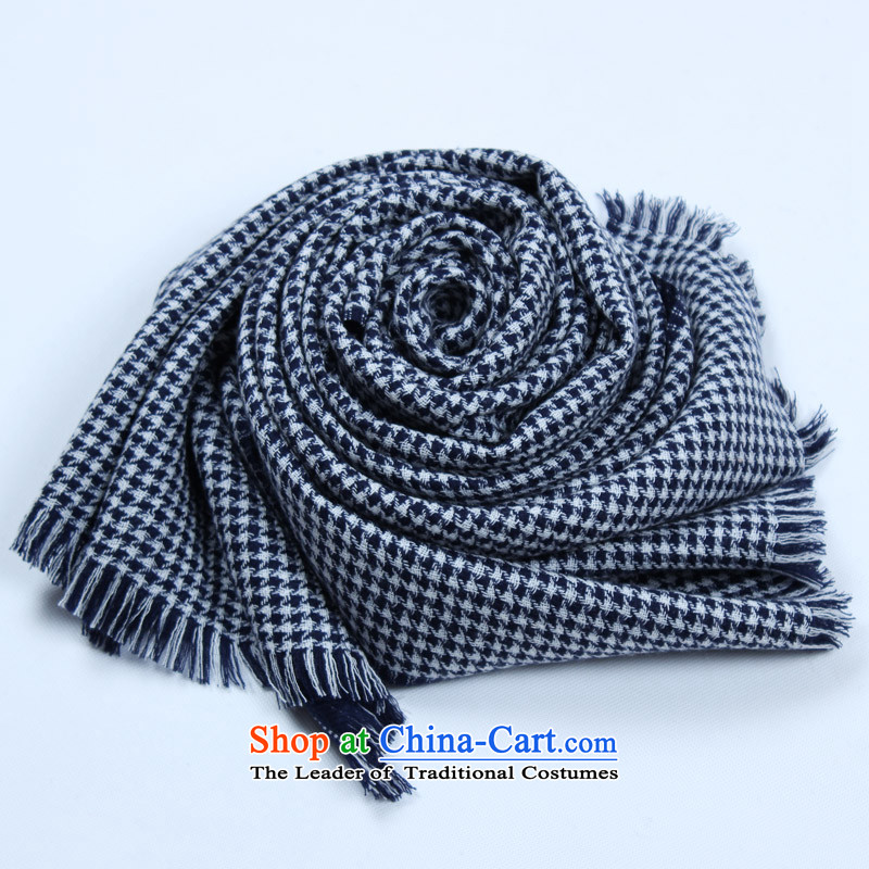 Shanghai Story autumn and winter new) is the end of the scarf Dyed Wool double-sided chidori grid scarf thick men warm gift scarf black and white, Chidori Shanghai Story STORY & shanghai) , , , shopping on the Internet