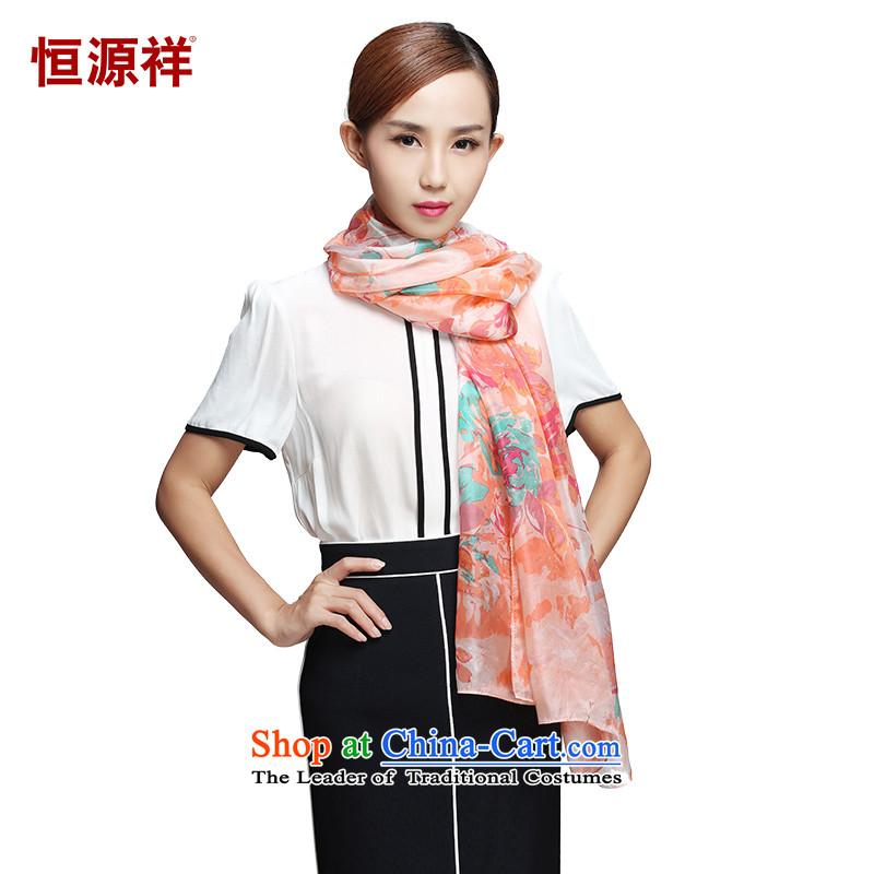Hengyuan Cheung2015 women idyllic poetry silk scarves wild long silk scarfZC268- Italian garden 105*175( L*W)