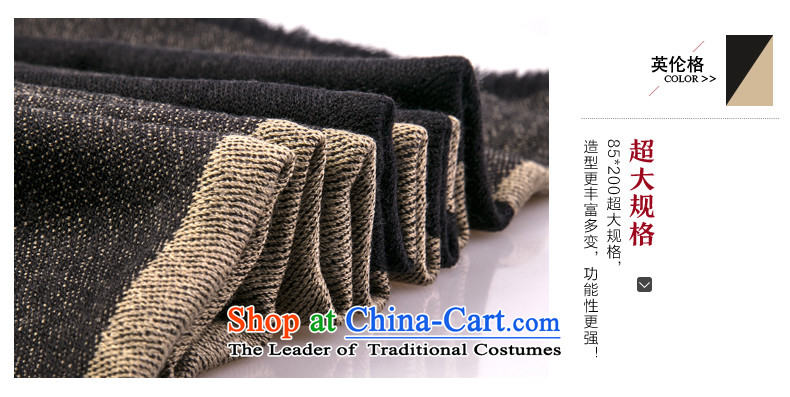Charlotte sheep to new products wool Fancy Scarf autumn and winter female maxi a national grid scarves wool wind two classic British Grid Image, prices, brand platters! The elections are supplied in the national character of distribution, so action, buy now enjoy more preferential! As soon as possible.