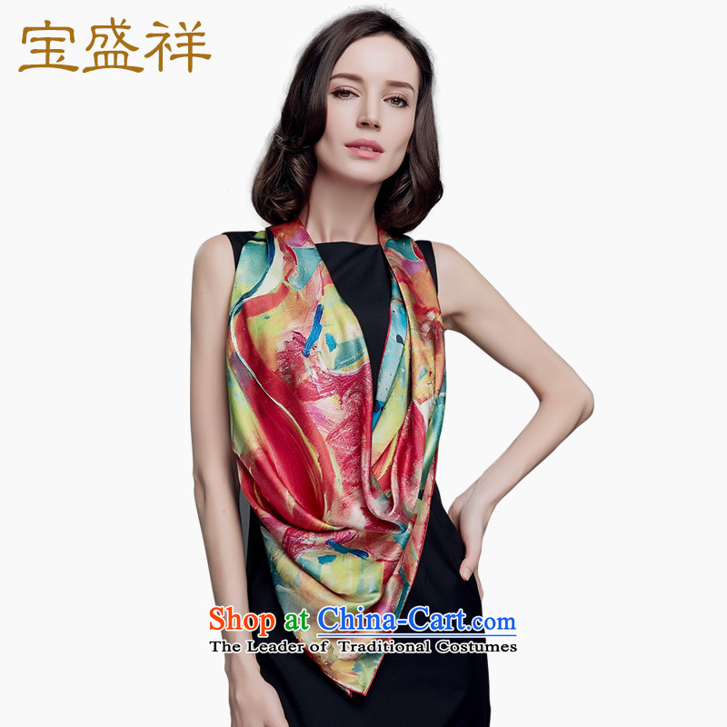 Eric blossom 2015 Ms. new satin and classy towel herbs extract silk extension silk scarf shawls9220 female mysterious Totem