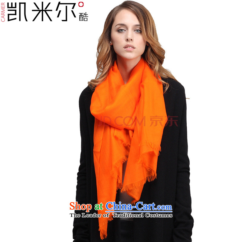 Kemi's core scarves women autumn and winter new pixel color woolen scarf shawl4313Ms. warm, Fancy Scarf4313SWW705 bright orange