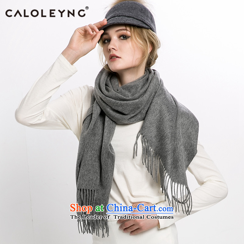 Charlotte to sheep fleece scarf shawl new female winter thick pashmina two use a stream of carbon)