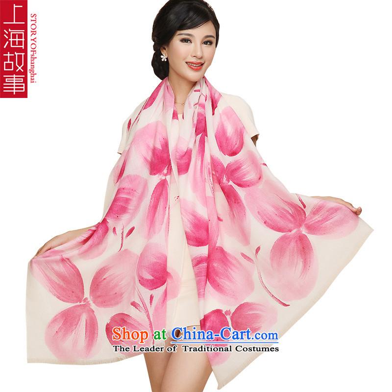 Shanghai Story wooler scarf female 100 Support The Australian wool wildsize warm shawl scarf聽SM1