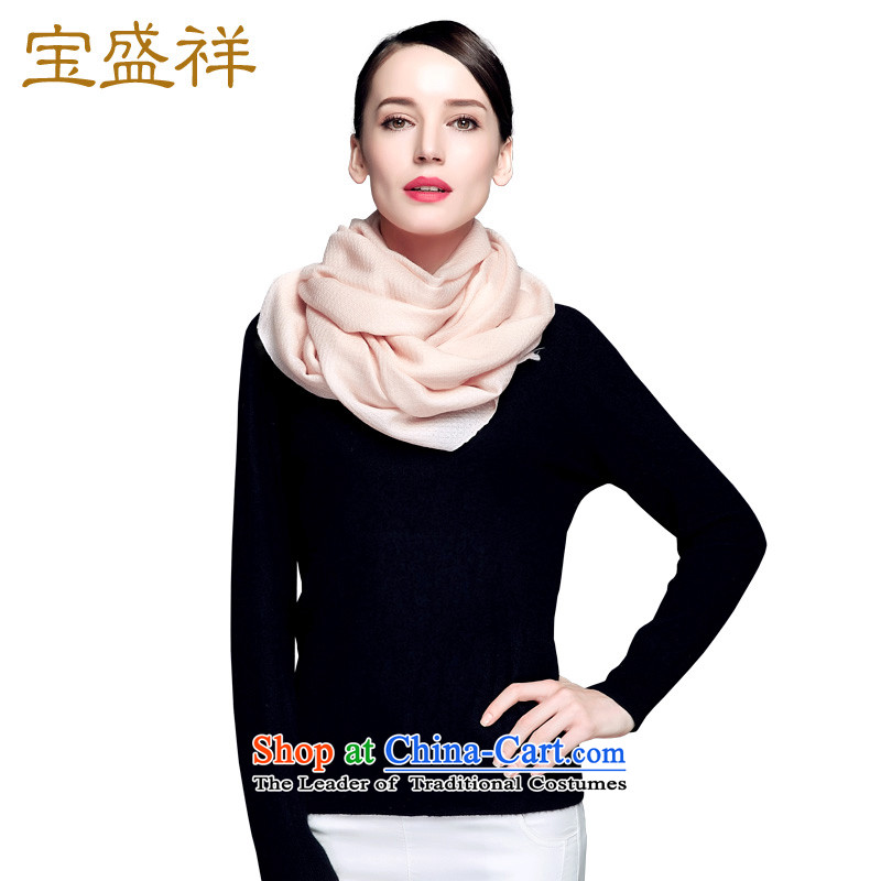 Eric blossom wooler scarf girls fine wool pineapple tattoo plain solid shawl scarf female autumn and winter, apricot