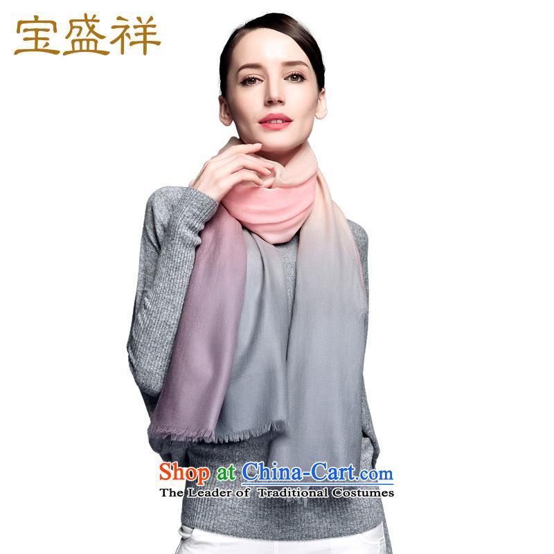 Ms. Cheung blossom new pashmina autumn and winter 200 Tri-color gradient /pashmina shawl female toner gray gradient