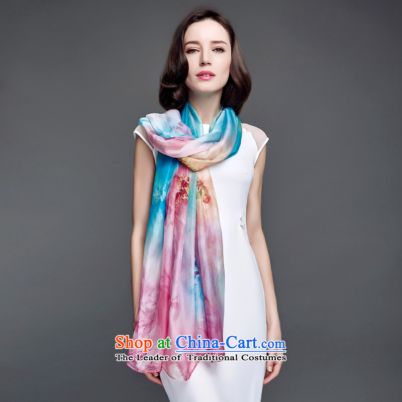 Ms. Cheung blossom sauna silk scarves spring and fall of snow spinning towel herbs extract scarf sunscreen large shawl autumn to obscure s9128