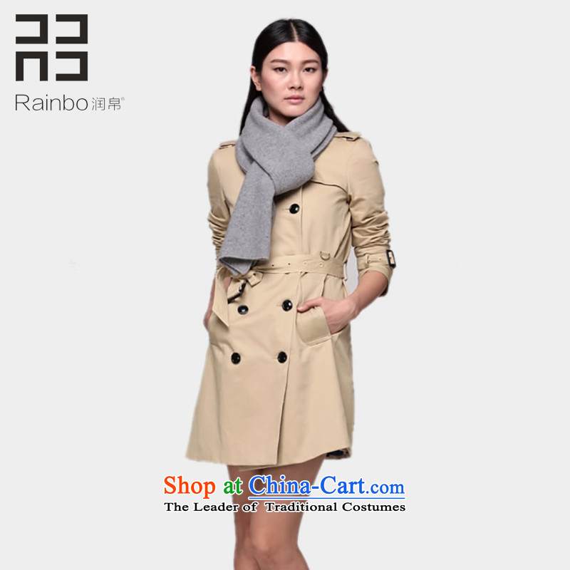 Yun 8pure color woolen scarves knitted thickening of autumn and winter female wild couples light gray a shawl long Smoke Gray