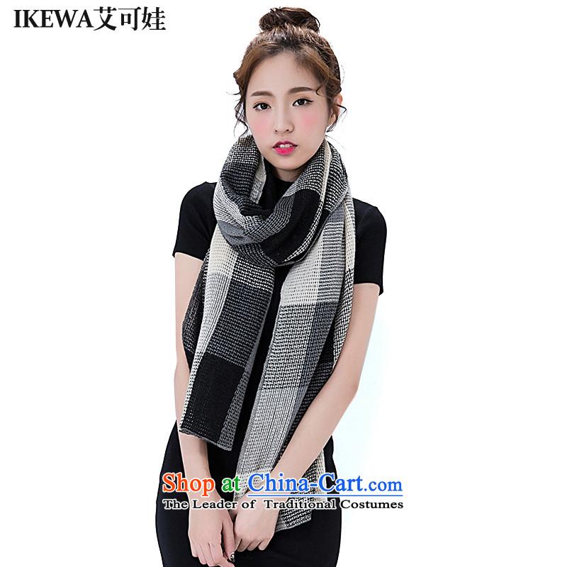 Hiv can be wa simulation IKEWA pashmina, 2015 autumn and winter new soft fluffy large compartments knitting, knitting air-conditioning shawl a light gray
