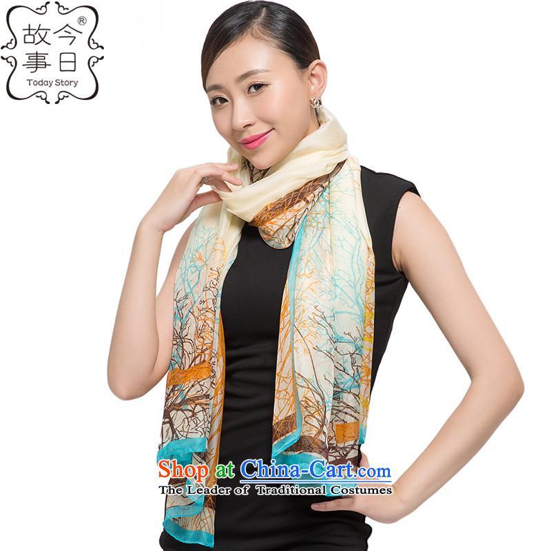 Today story long towel chiffon female shawl scarf4313autumn and winterJ5141beige