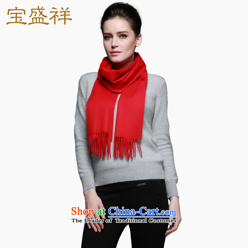 Eric blossom autumn and winter Cashmere wool scarves new classic plain solid, wool and also handkerchief chinese red scarf
