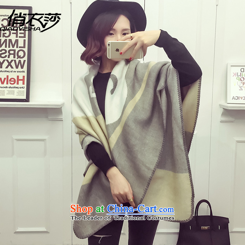 For autumn and winter clothing Windsor new Korean president scarf cute little duck stamp stylish warm shawl QA15414313150*120cm color picture