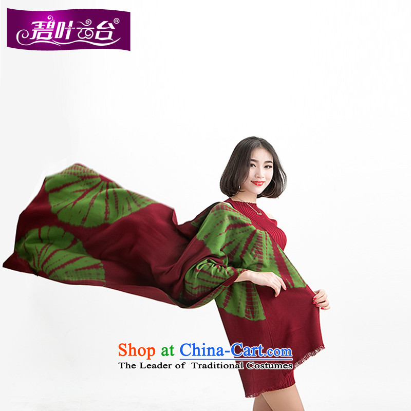 Mr Pik PTZ sunflower shawl scarf girl of autumn and winter Western woolen scarf shawl Korea two with Thick edging a)003