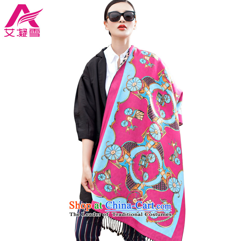 The Korean version of the new 2015 autumn and winter-couture warm longer scarves stamp large European and American national controversy shawl thick Bohemia Wai Shing聽WF15