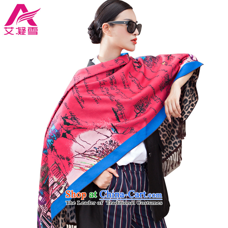 The Korean version of the new 2015 autumn and winter-couture warm longer scarves stamp large European and American national controversy shawl thick Bohemia Wai Shing聽WF17