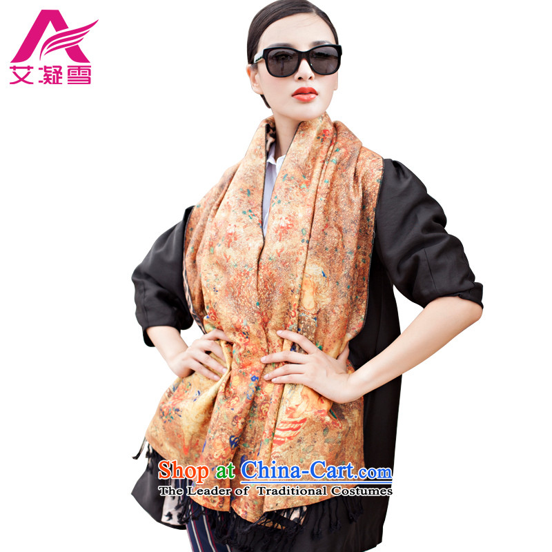 The Korean version of the new 2015 autumn and winter-couture warm longer scarves stamp large European and American national controversy shawl thick Bohemia Wai Shing聽WF18
