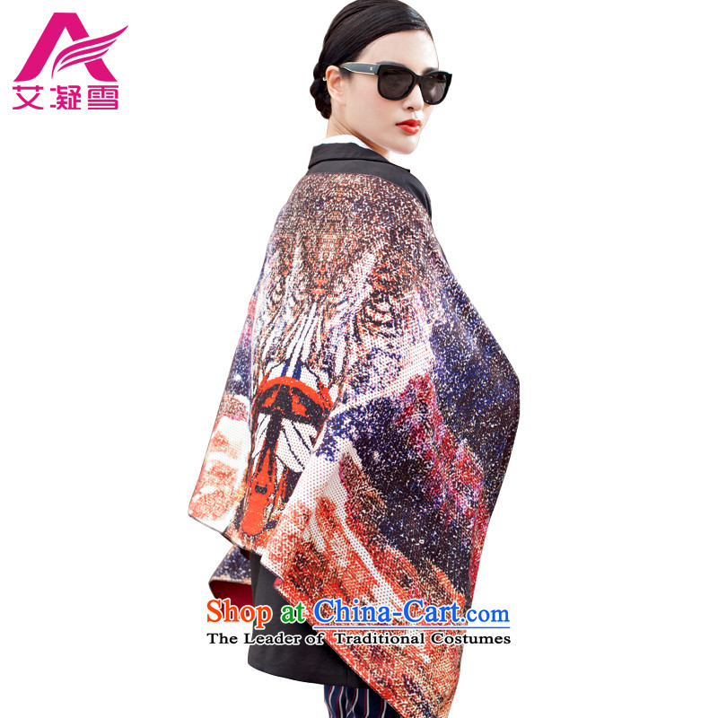 The Korean version of the new 2015 autumn and winter-couture warm longer scarves stamp large European and American national controversy shawl thick Bohemia Wai Shing聽WF19